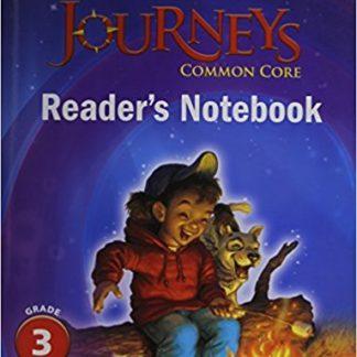 Houghton Mifflin Harcourt Journeys: Common Core Reader's Notebook Consumable Volume 1 Grade 3