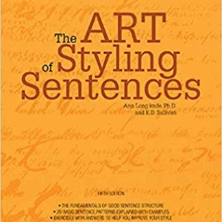 Art of Styling Sentences (5TH ed.)
