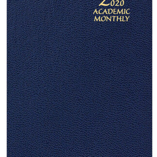 SMB-610 Monthly Academic Planner Navy Blue