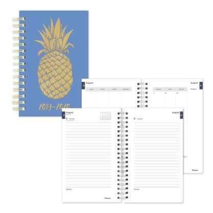 Academic Daily Planner 2019-2020