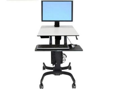 WorkFit-C Single HD Sit-Stand Workstation (24-216-085)