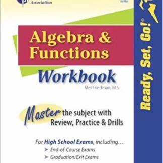 Algebra and Functions Workbook (Ready, Set, Go!)