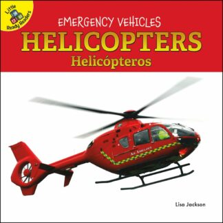 Emergency Vehicles - Helicopters Helicópteros (Board Books)