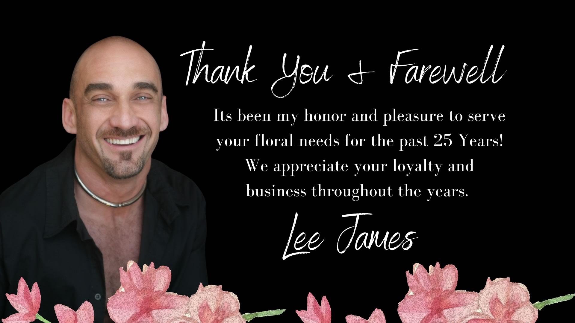 Lee James Floral Designs