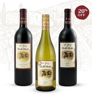 Mixed wine bottles