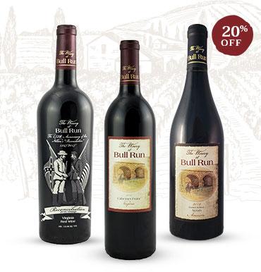 Photo of premium red wines
