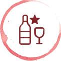 Specialty wine icon
