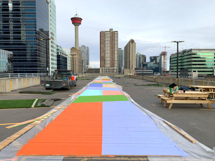 HIGH PARK by Public City Architecture-Beltline Neighbourhoods Association, Calgary Parking Authority, Down Town, Calgary, Canada