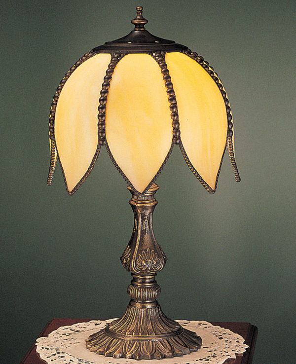 Tulip Edwardian-Style Accent Table Lamp