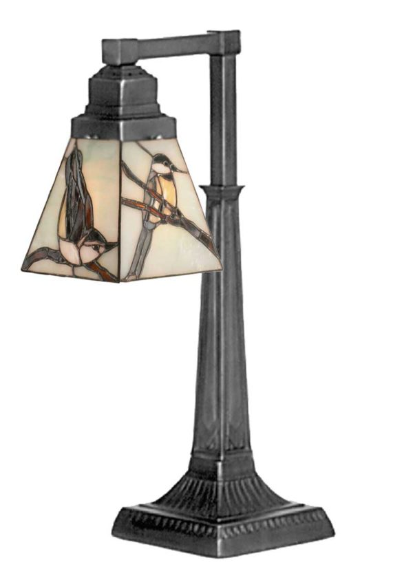 """19.5"""" H Early Morning Visitors Desk Lamp"""