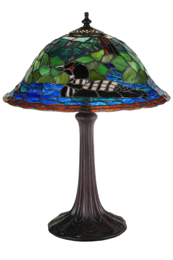 """18.75""""H Loon Table Lamp"""