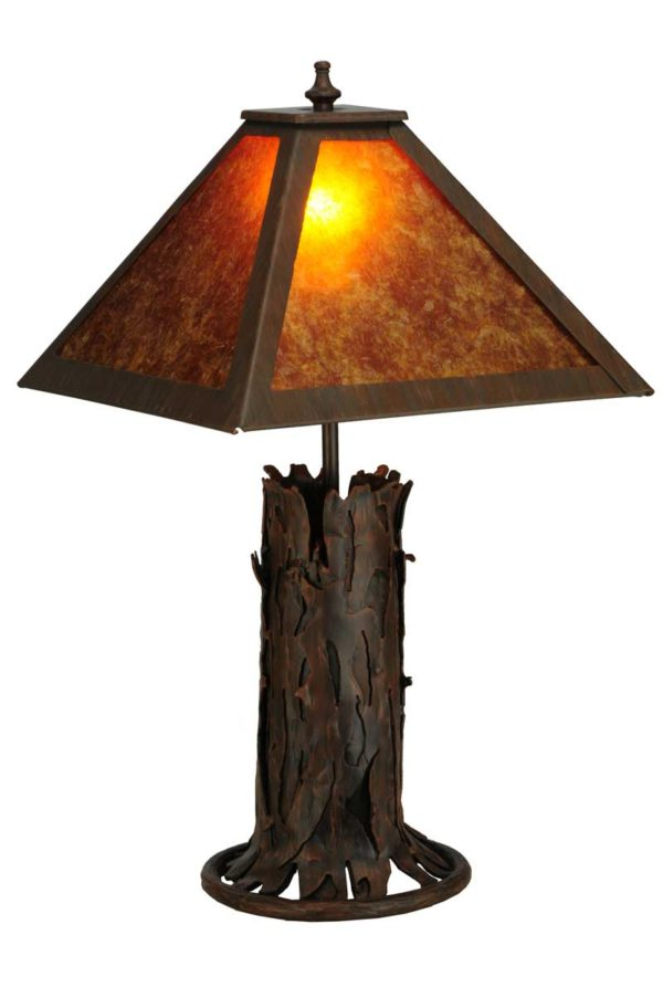 """20"""" H Northwoods Simple Mission Accent Lamp"""