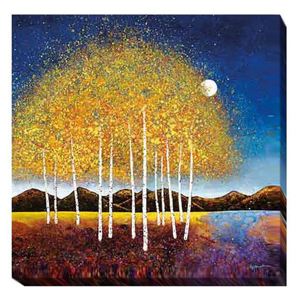 Evening Stream   Melissa Graves Brown   Gallery-Wrapped Canvas Art