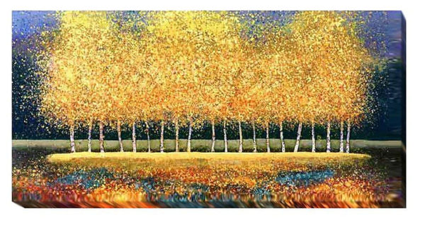Golden Stand   Melissa Graves Brown   Gallery-Wrapped Canvas Art