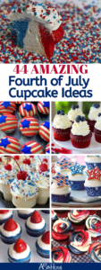 44 Patriotic Fourth of July Cupcakes