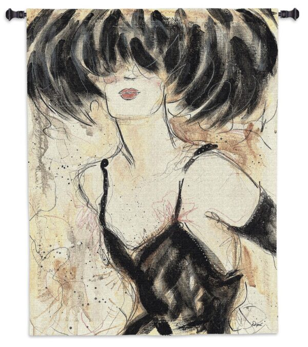 Caprice V by Karen Dupre | Glam Wall Tapestry | 53 x 43