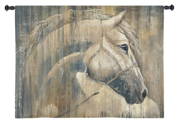 His Majesty (Horse)   Large Country & Rustic Wall Tapestry   53 x 53