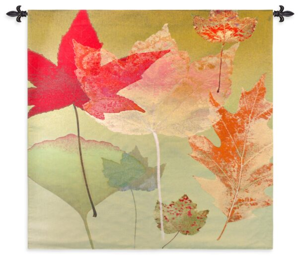 Leaf Counterpoint | Contemporary Tapestry | 53 x 53