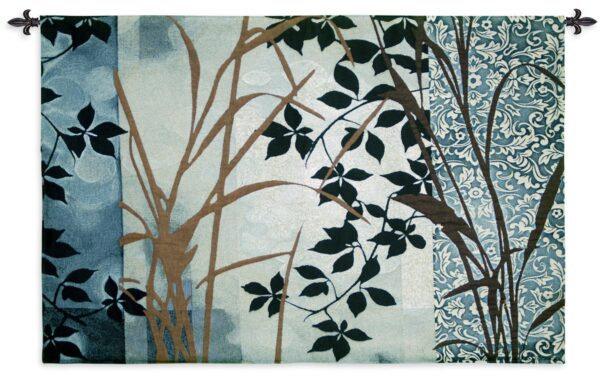 Silver Whispers   Wall Tapestry   34 x 53