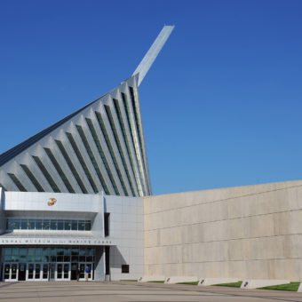 The National Museum of the Marine Corps, Triangle, VA.