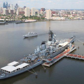 Battleship New Jersey Museum and Memorial, Camden, New Jersey