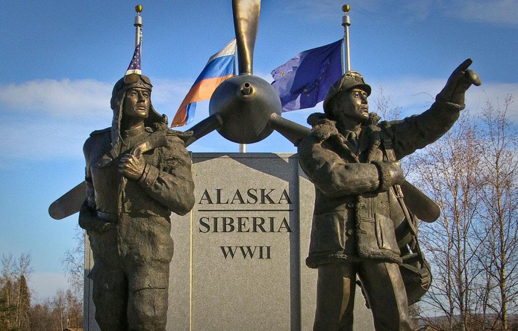 Lend-Lease Memorial  Fairbanks, AK