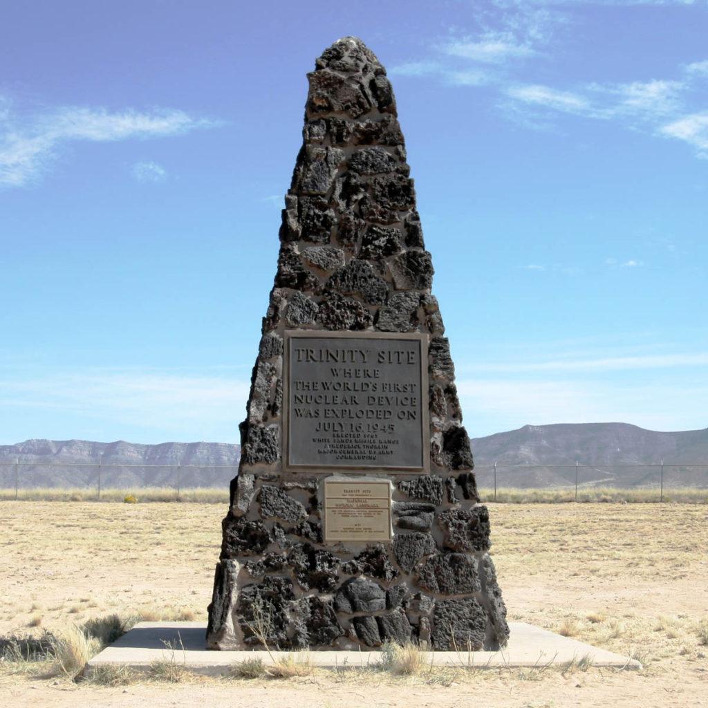 Trinity Site Socomo County, NM