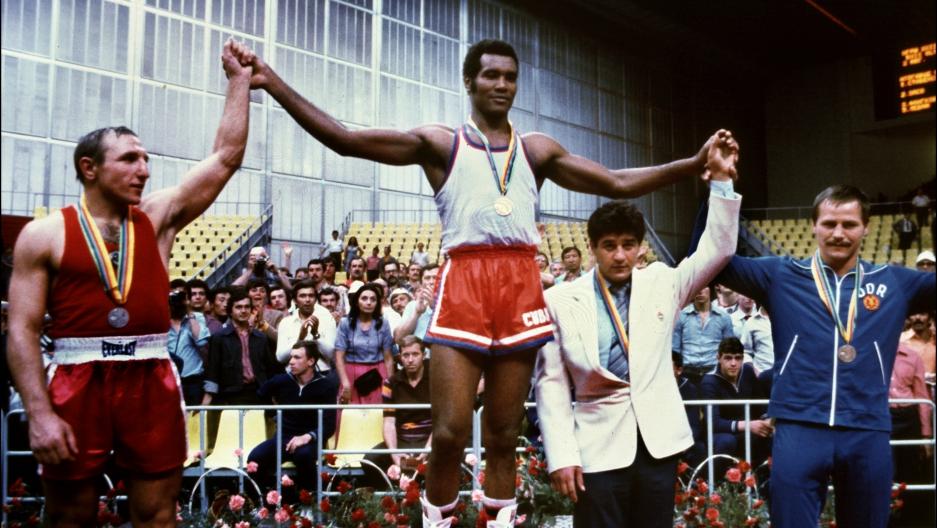 Teofilo Stevenson, Cuban Boxing Legend.