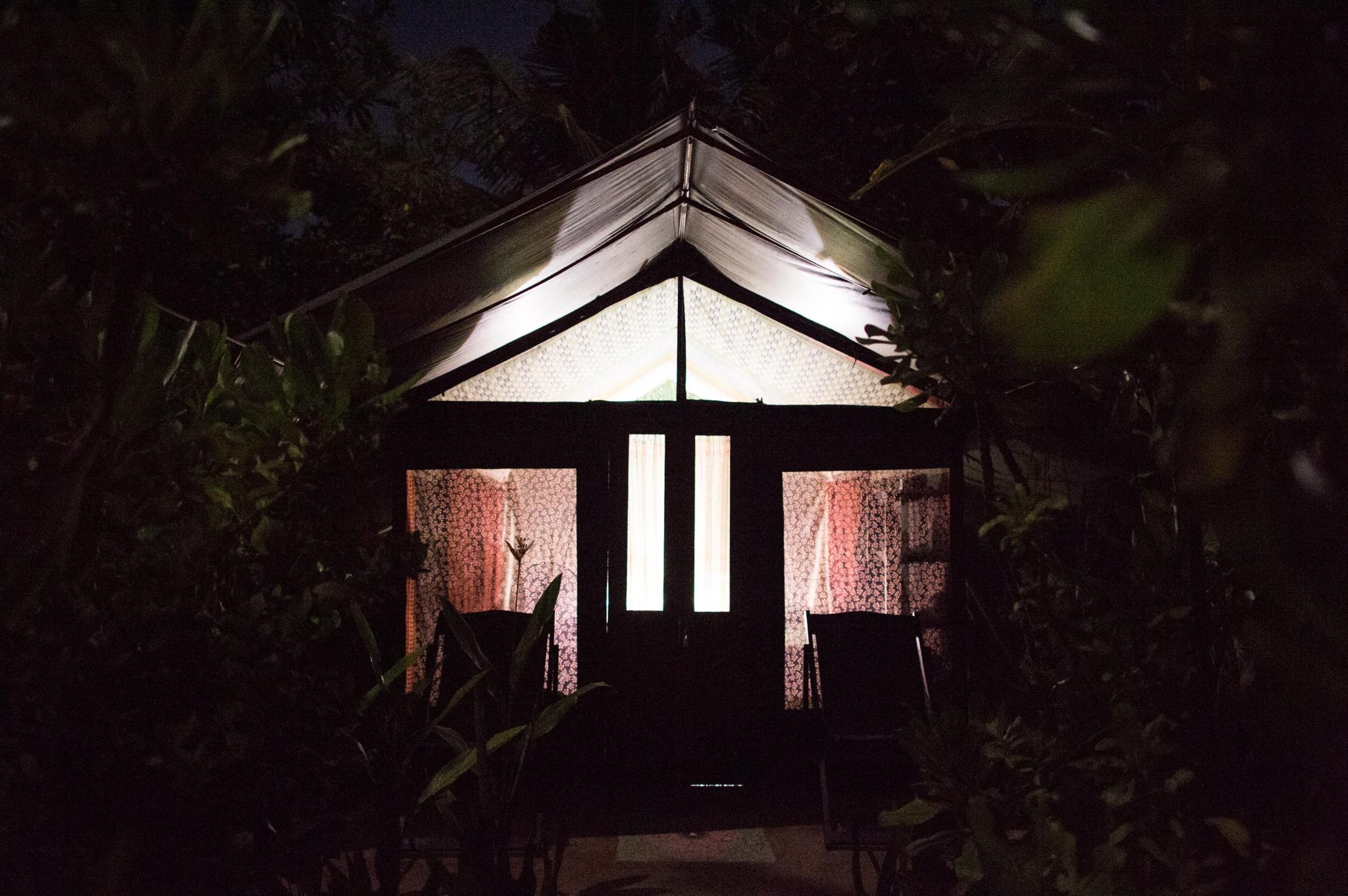 Tent at Camp Poe