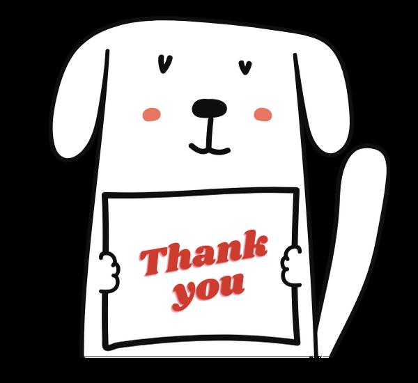 Thankyou Dog