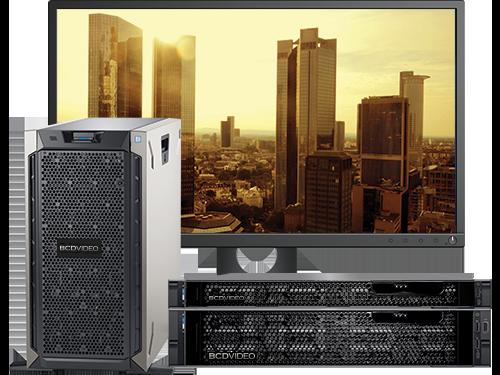 Professional video recording servers