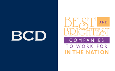 BCD Named to Best and Brightest Places to Work for in the Nation