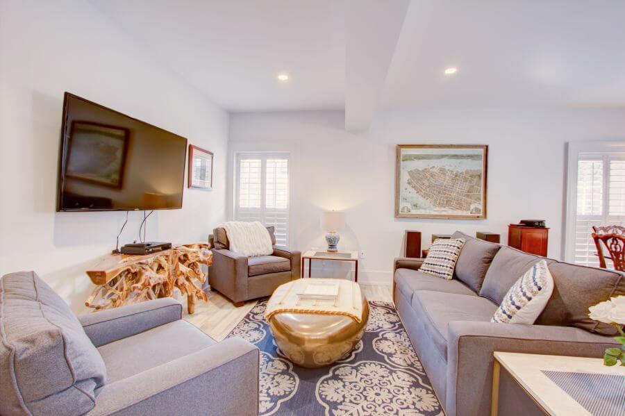 The Jasper Suite Living Room