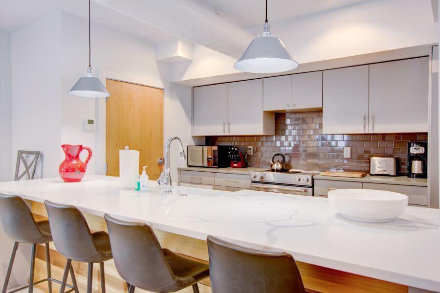 The Jasper Suite Open Concept Kitchen