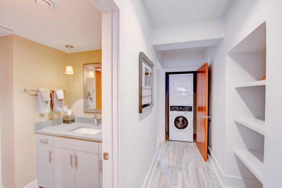 The Jasper Suite in room laundry