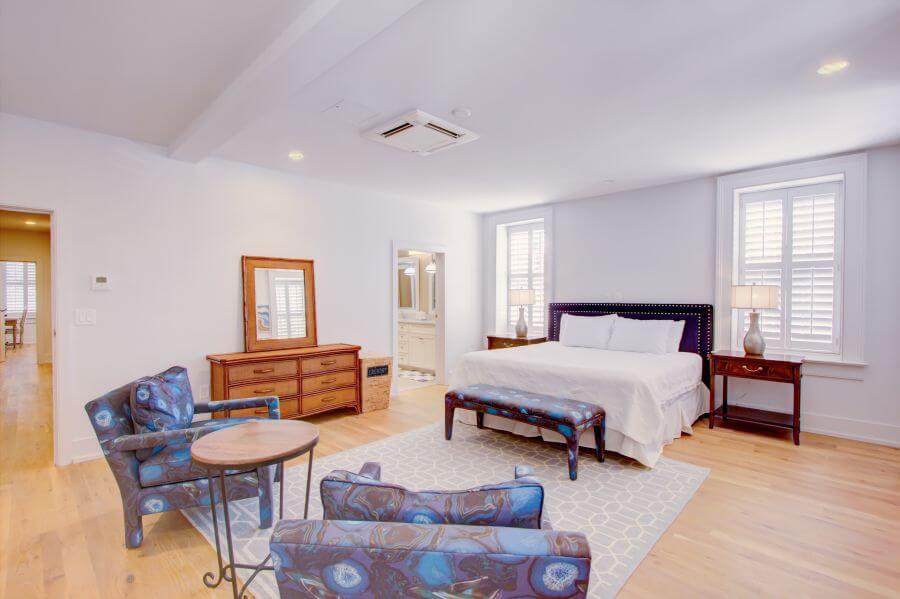 Steeple Suite First Main Bedroom