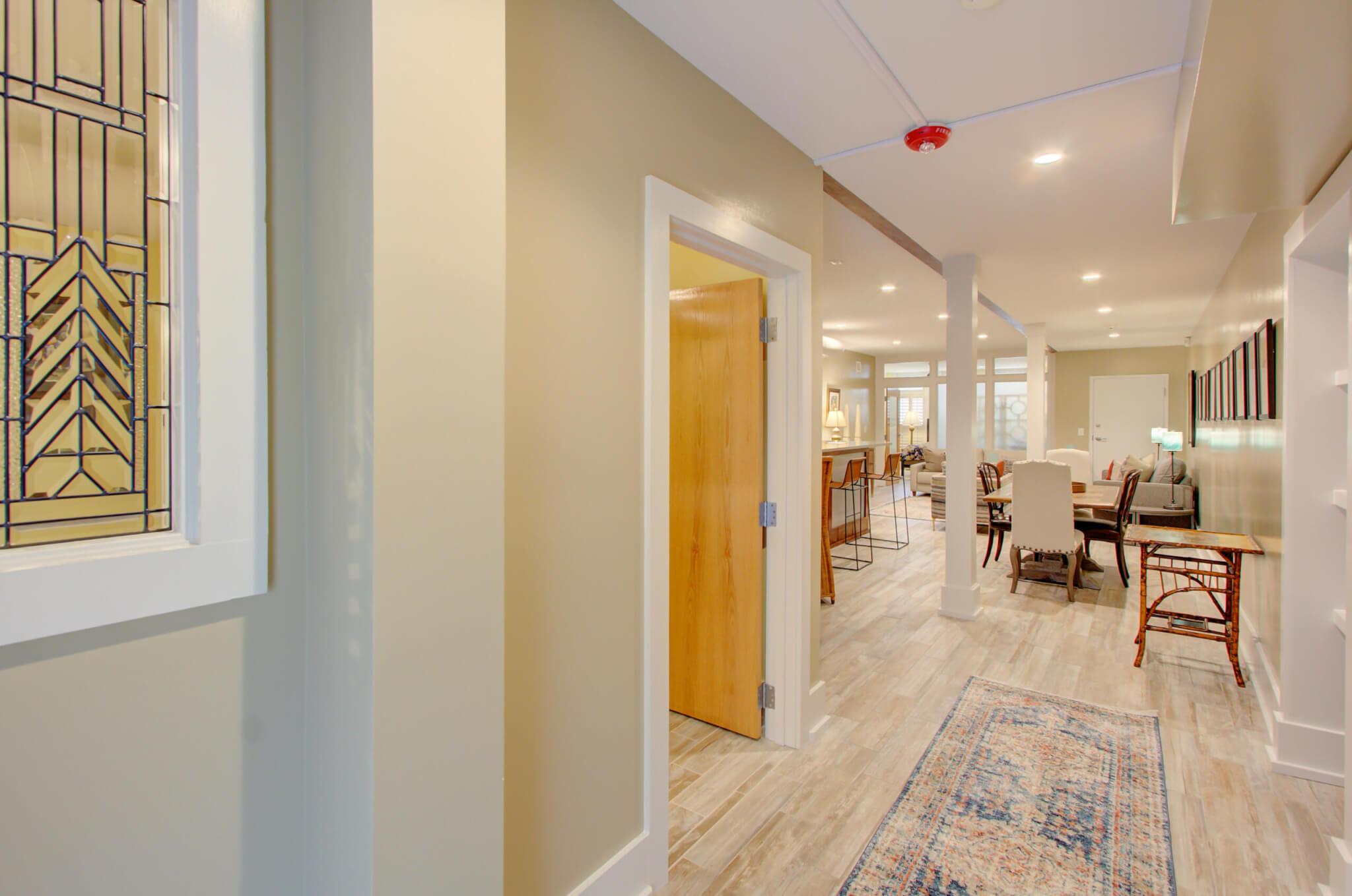 Chestnut Suite Entrance