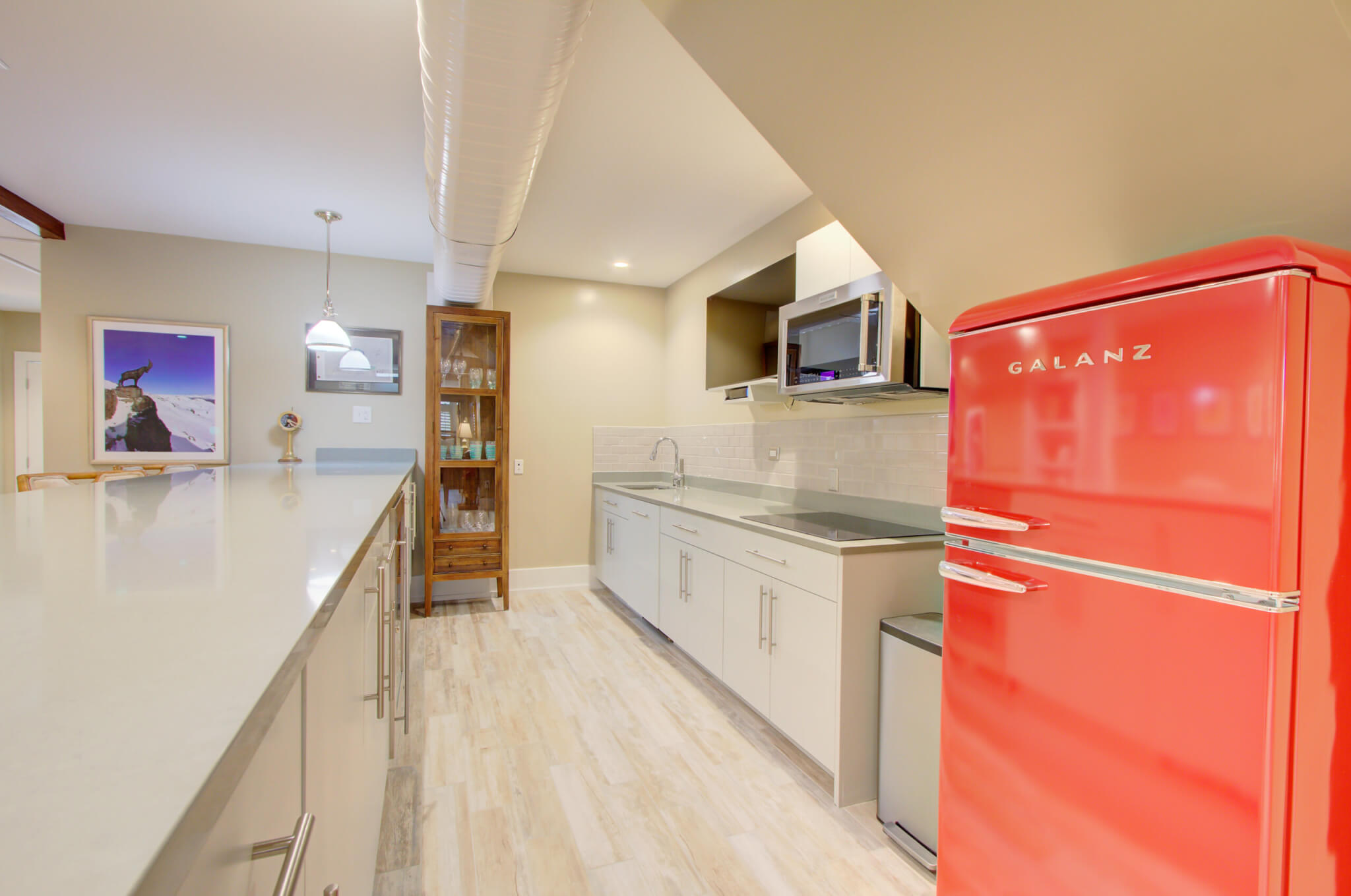 Kitchen with Large Breakfast Bar