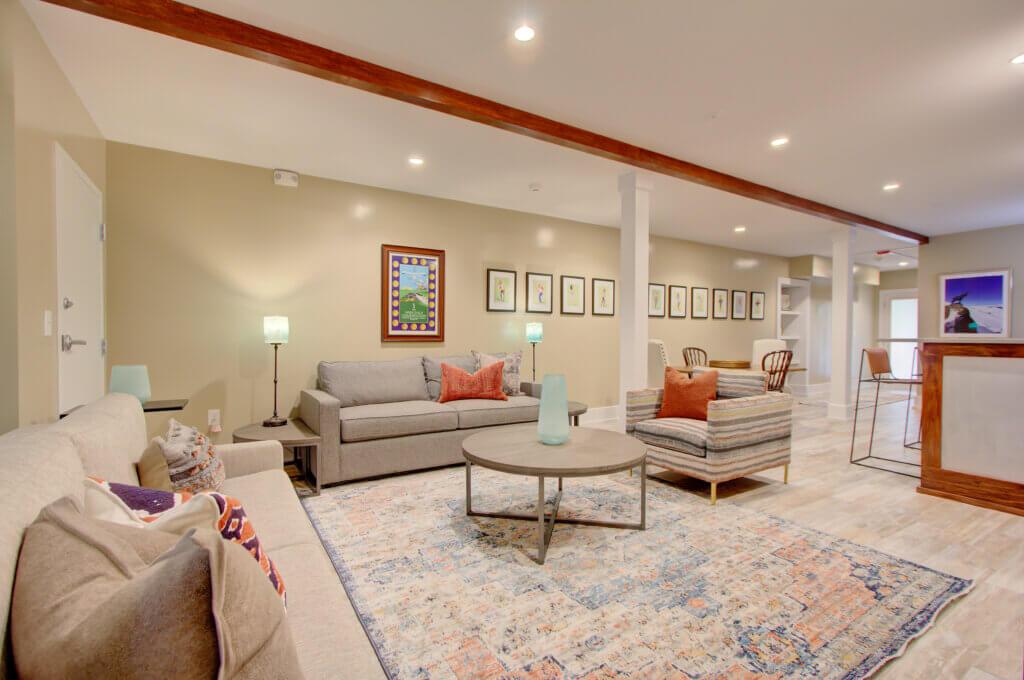 Chestnut Suite Featuring Open Concept Living Area