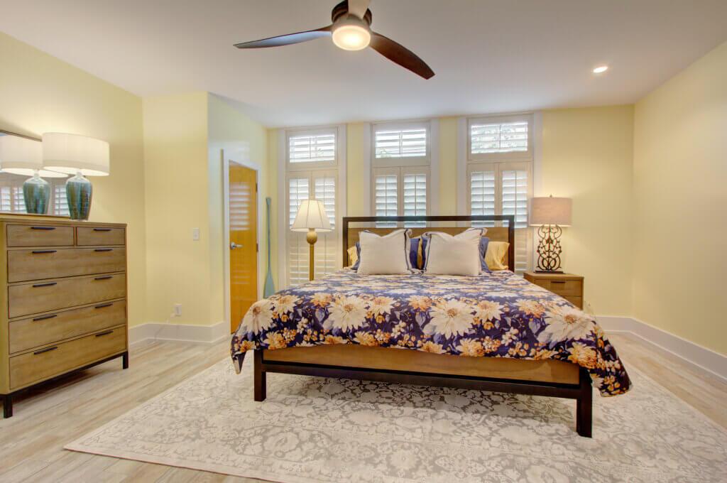 Chestnut Suite Master Bedroom