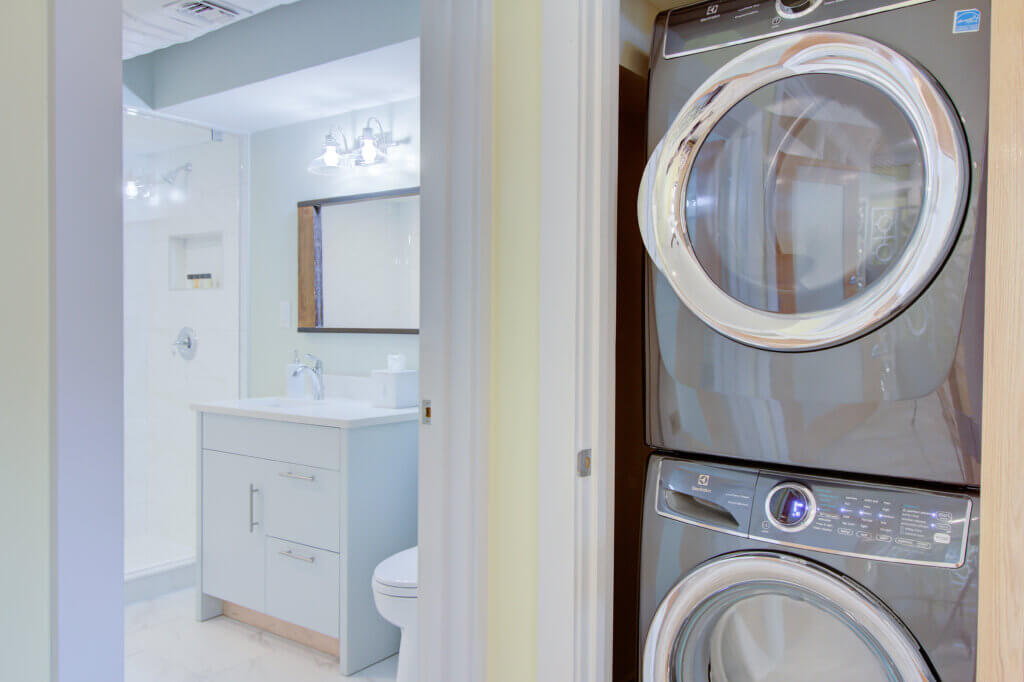 All Suites Have Washer and Dryer with Detergent Provided