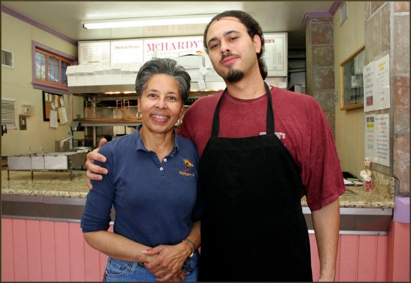 Alvi and Rahman Mogilles of McHardy's Chicken width=