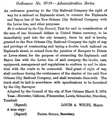 Ord2518-1874-EsplanadeStreetcar
