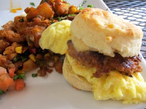 This meal, featuring home made biscuits, meat from Terranova's all wonderfully prepared is only available from Santa Fe and only on Sundays!