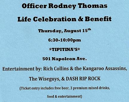 Benefit for Rodney Thomas