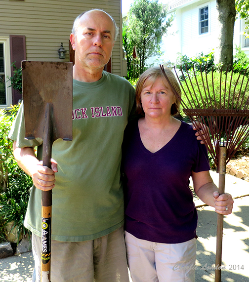 Rex and Nancy are serious about flood prevention and encourage you to clean the storm drains near you!