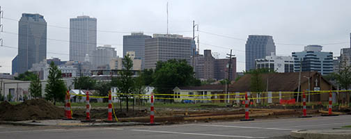 The Lafitte Greenway is projected to be complete at the end of Summer, 2015.