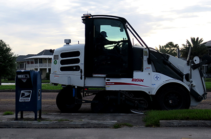 City Sweeps Clean on the Bayou April 21, 2015