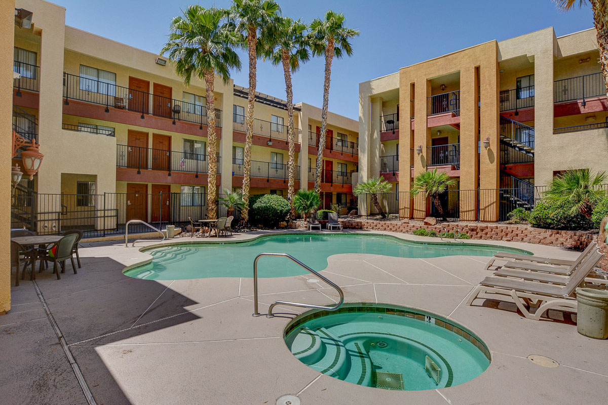 Nellis Suites at Main Gate | An All-Suites Extended Stay Community in Las Vegas, Nevada