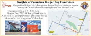 Burger Boy Fundraiser @ Burger Boy